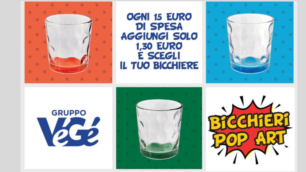 Bicchieri Pop Art